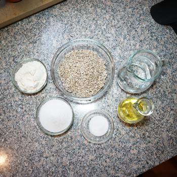 Ингредиенты для халвы подсолнечной