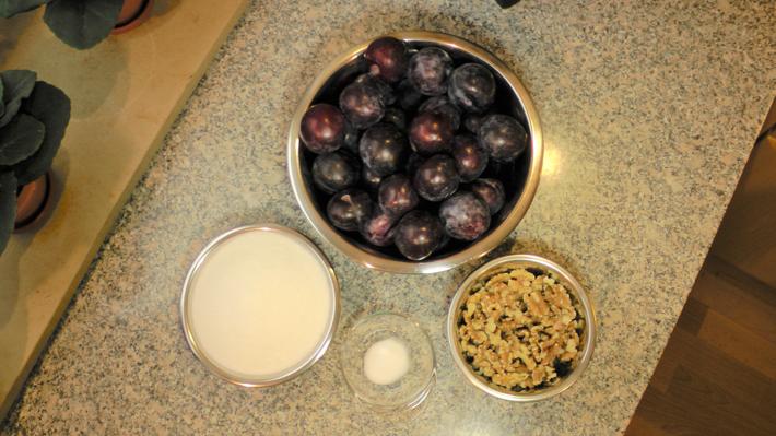 Для приготовления варенья нам понадобятся следующие ингредиенты